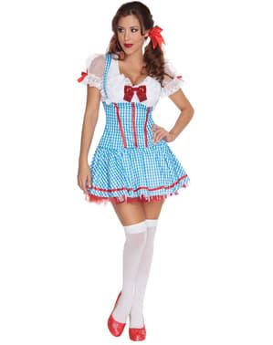 Dorothy sexy kostuum voor vrouw