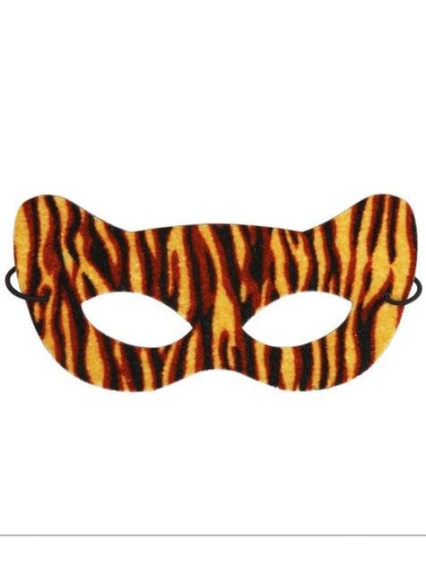 Antifaz de tigre seductor para adulto