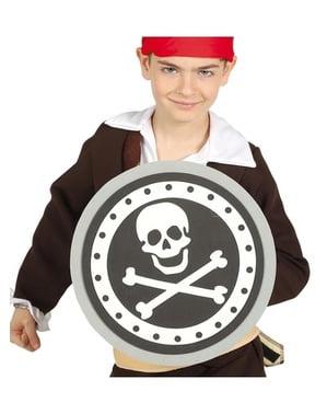 Perisai EVA bajak laut untuk anak-anak 29 cm