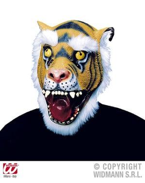 Mască de tigru blănos pentru adult