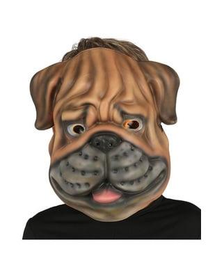 Masker bulldog EVA untuk anak-anak