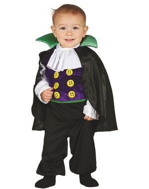 Mischievous vampire costume for babies