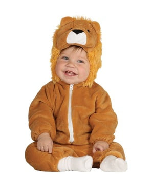 Lion King of the Jungle costume for babies