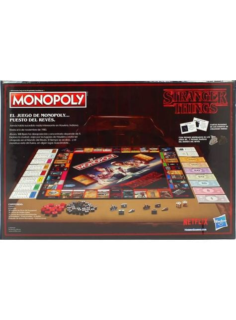 Monopoly de Stranger Things em espanhol