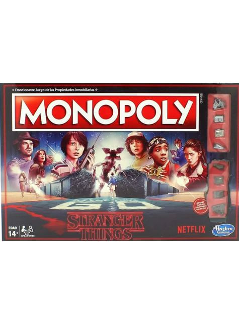Monopoly de Stranger Things en español