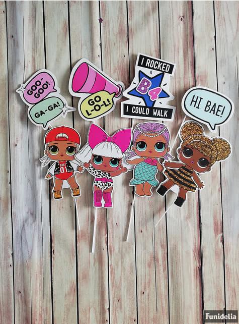 8 accessoires pour Photocall LOL Surprise