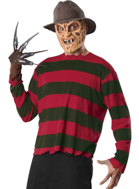 Fato de Freddy Krueger classic para homem