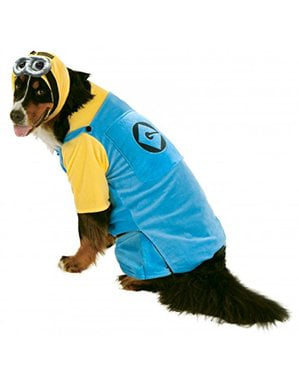 Dog's Plus Size Minion Costume