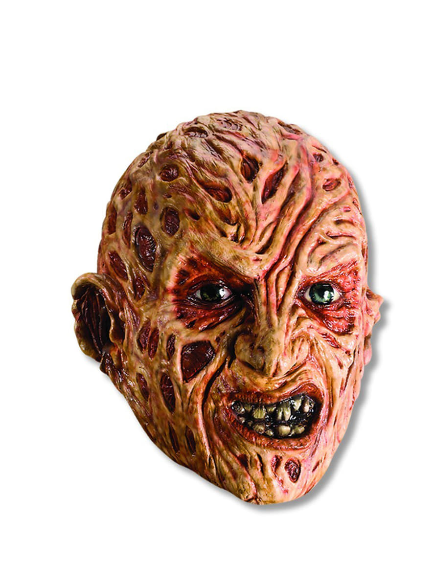 freddy krueger vinyl mask for an adult. express delivery | funidelia