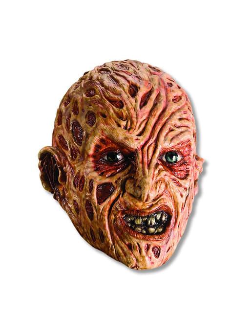 Máscara Freddy Krueger de vinilo para adulto