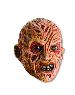 Freddy Krueger vinyl maske for voksen