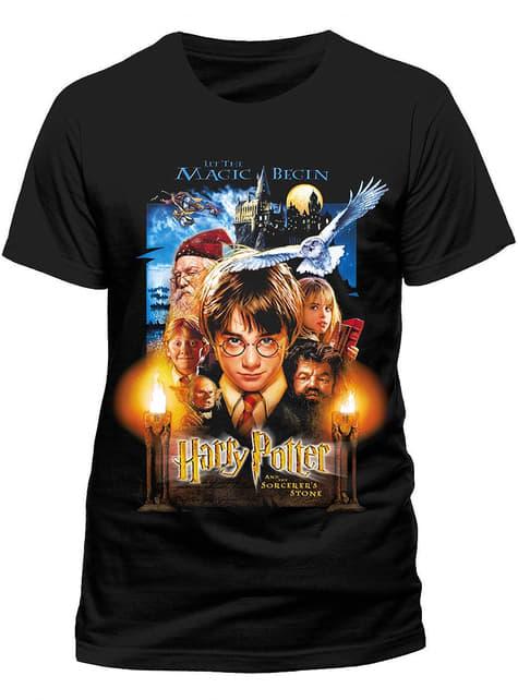Camiseta de Harry Potter y la Piedra Filosofal para hombre