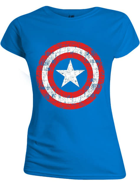 Captain America T-Shirt for Women - Marvel
