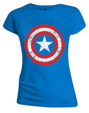 Captain America T-Shirt for Women - Marvel