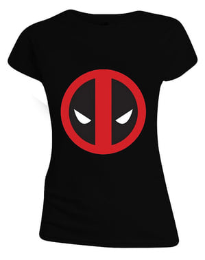 マーベル - 女性のためのデッドプールTシャツ