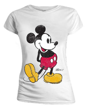 Mickey Mouse Bayan Tişört - Disney