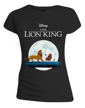Hakuna Matata בחולצת טריקו לנשים - מלך האריות