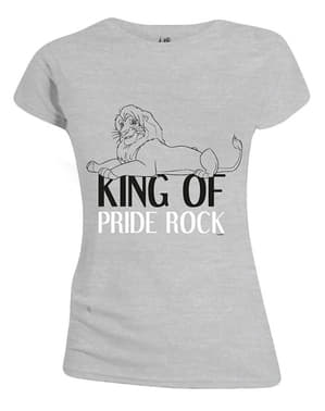 The Lion King T-Shirt for Women in Grey - Disney