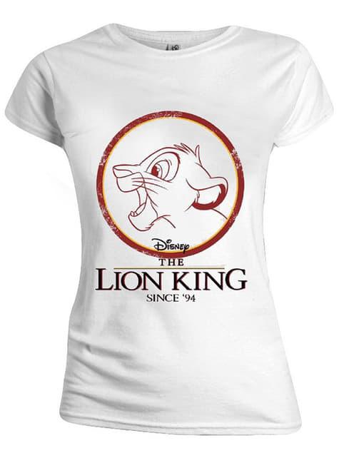 T-shirt de Simba para mulher - O Rei Leão