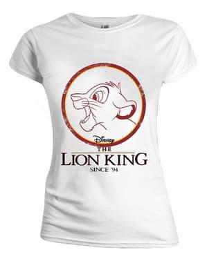 סימבה בחולצת טריקו לנשים - מלך האריות