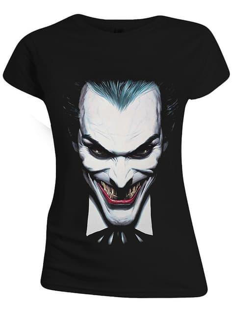 T-shirt de Joker para mulher - DC Comics