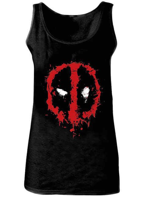 Camiseta de Deadpool tirantes para mujer - Marvel