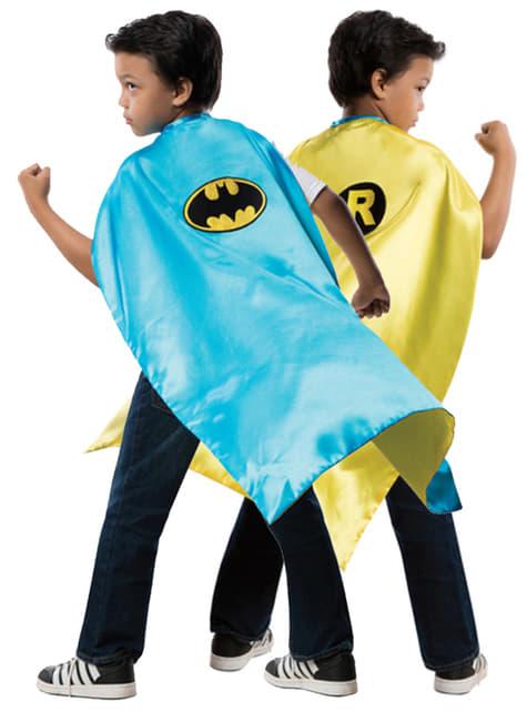 Chlapecký oboustraný plášť Robin DC Comics