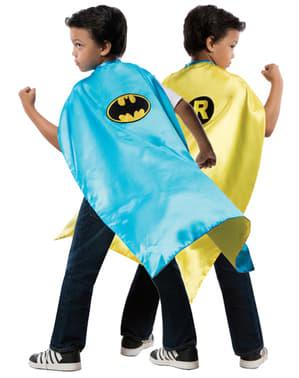 Capa reversível de Robin Batman DC Comics para menino