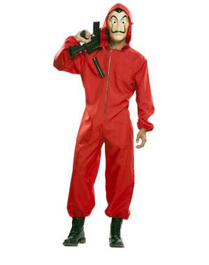 Deluxe Money Heist Costume