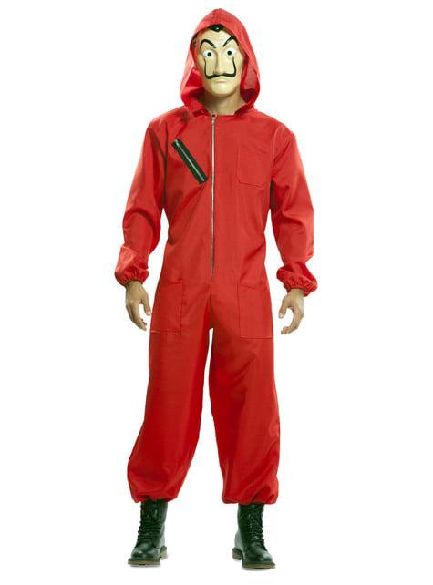 Disfraz de La Casa de Papel deluxe - traje