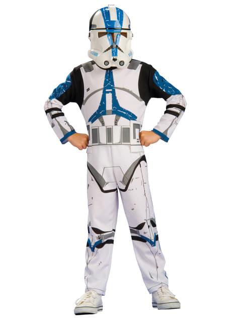 Disfraz de Clone Trooper Legión 501 para niño
