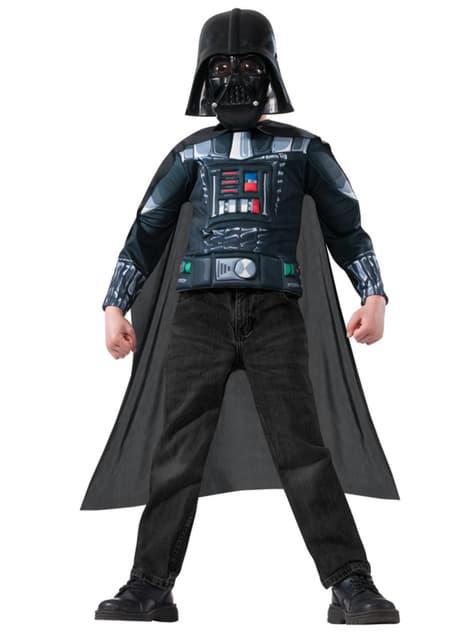 Kit disfraz de Darth Vader para niño