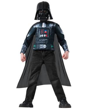 Muskulöses Darth Vader Kostüm Set für Jungen