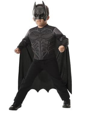 Muskulær Batman Kostyme Sett Gutt