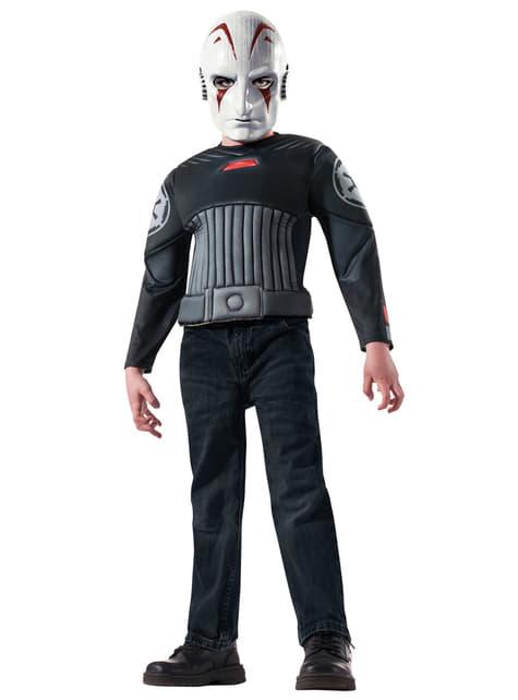 Kit disfraz del Inquisidor Star Wars para niño