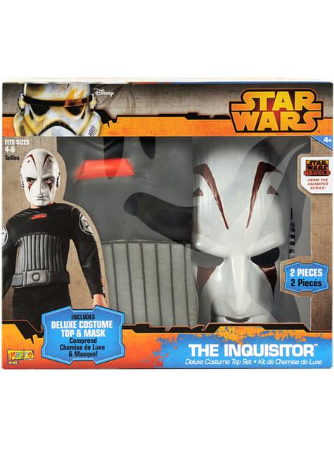 Kit disfraz del Inquisidor Star Wars para niño - infantil
