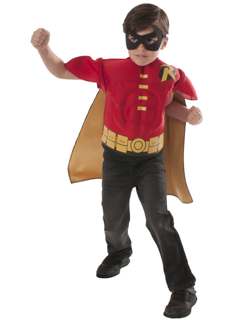 Robin DC Comics gespierde verkleedset voor jongens