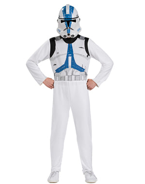 Boxed Darth Vade and Clone Trooper Star Wars Costumes