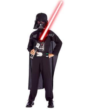 Costumes Dark Vador et Clone Trooper Star Wars en boîte enfant