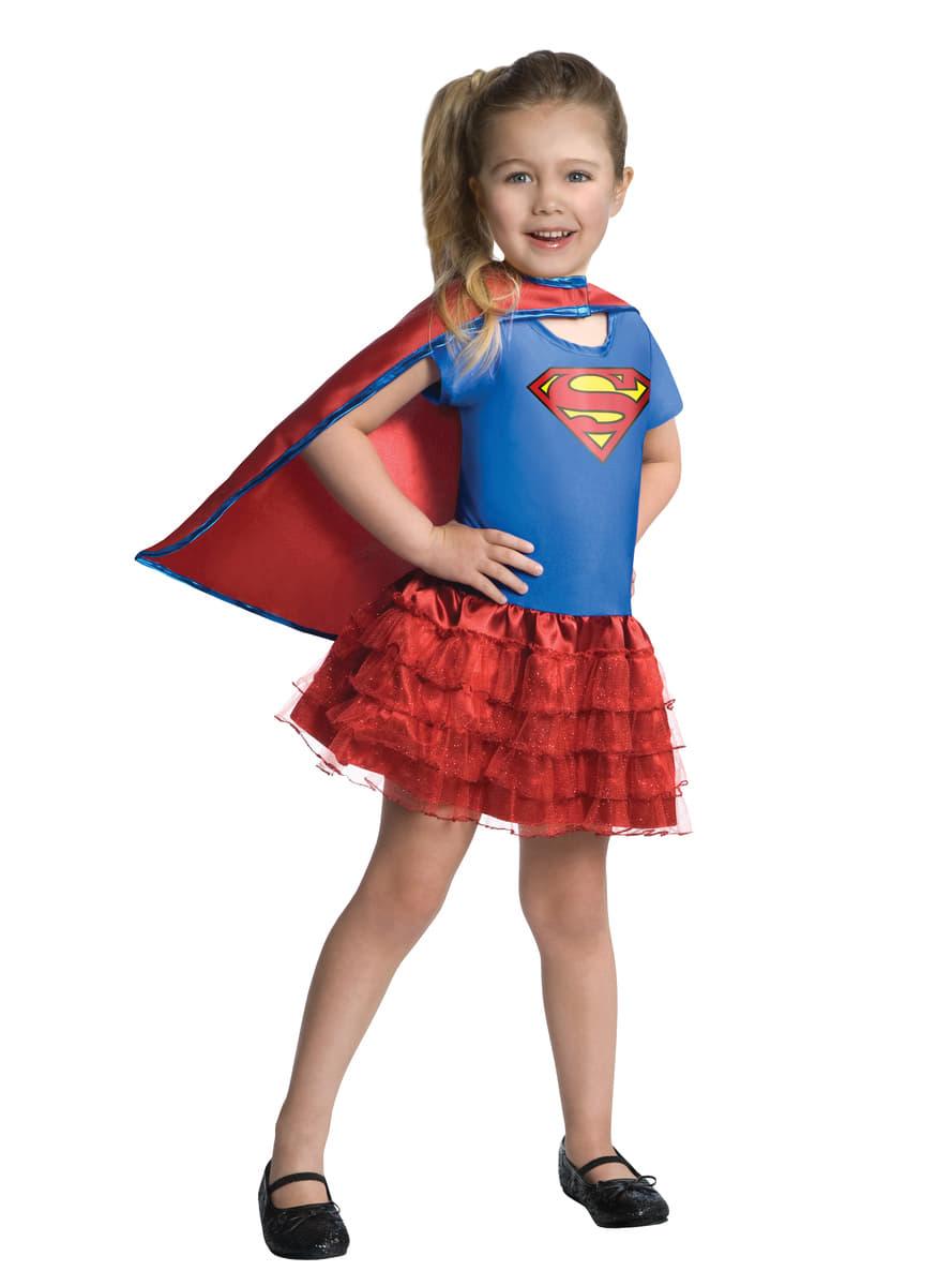 Costume supergirl dc super hero girls tutu fille les plus amusants funidelia - Image super heros fille ...