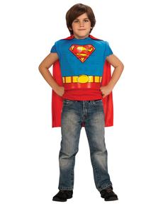 Kit disfraz de Superman musculoso para niño