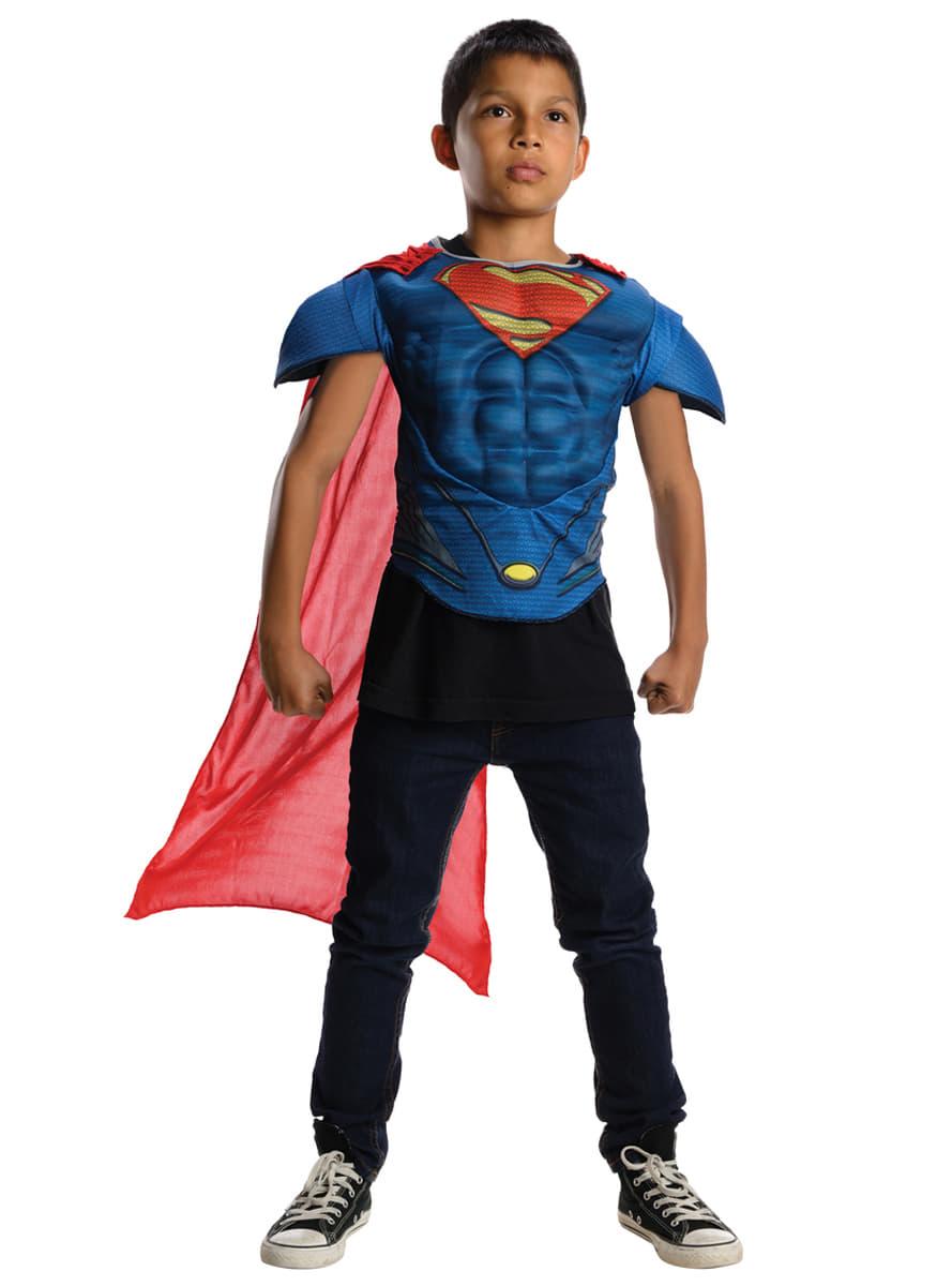 muskul ses superman kost m set f r jungen aus iron man funidelia. Black Bedroom Furniture Sets. Home Design Ideas