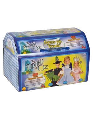 Trollkarlen från Oz Dorothy, Glinda och Häxa Maskeraddräkter i kista Barn