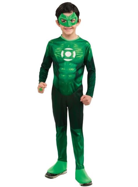 Hal Jordan Green Latern Kostüm für Kinder