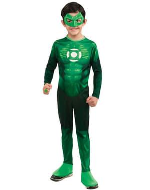 Fato de Hal Jordan Lanterna Verde para adolescente