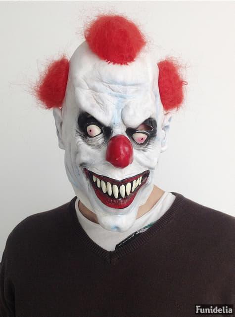 Máscara de palhaço demoníaco