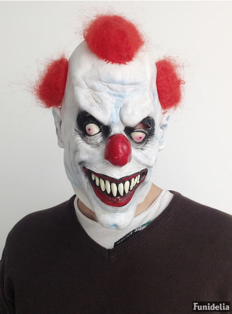 Masque de clown tueur