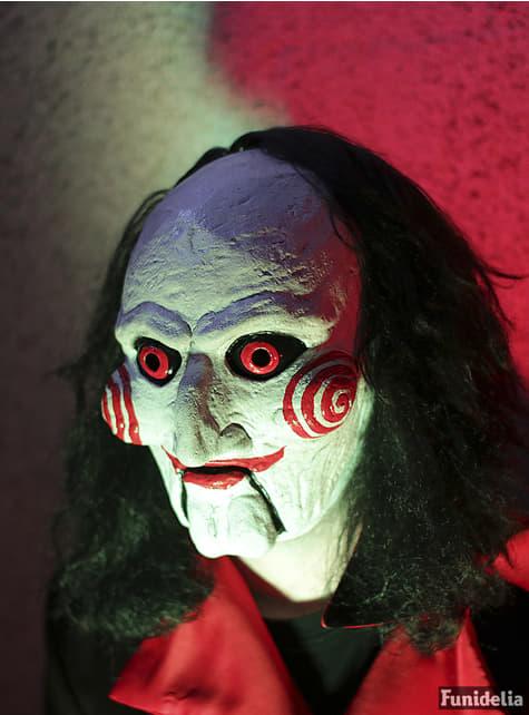 Máscara del títere Billy de Saw - para tu disfraz