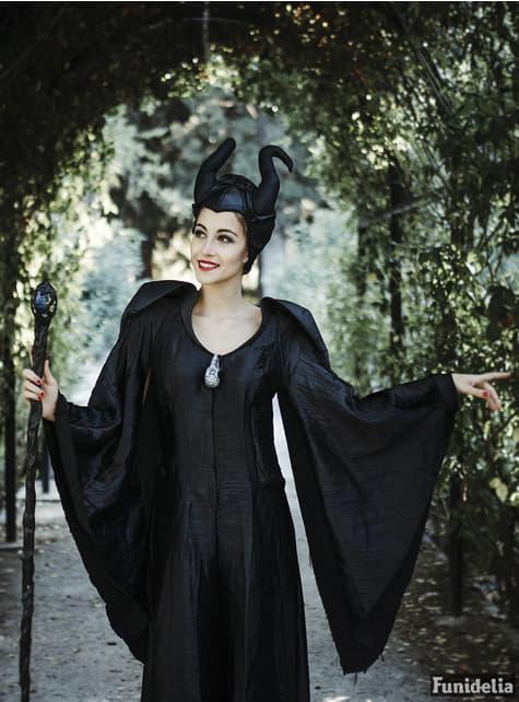 Deluxe Maleficient kostuum voor vrouw
