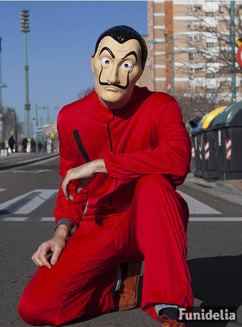 Máscara de Dalí - La Casa de Papel - Halloween